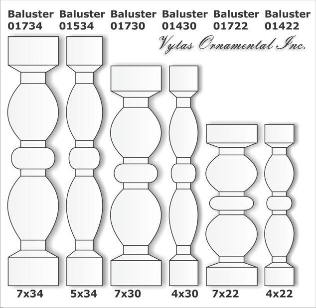 Custom balusters 1
