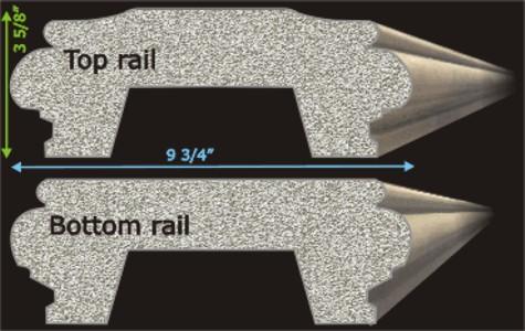 ... Intricate Railing System.